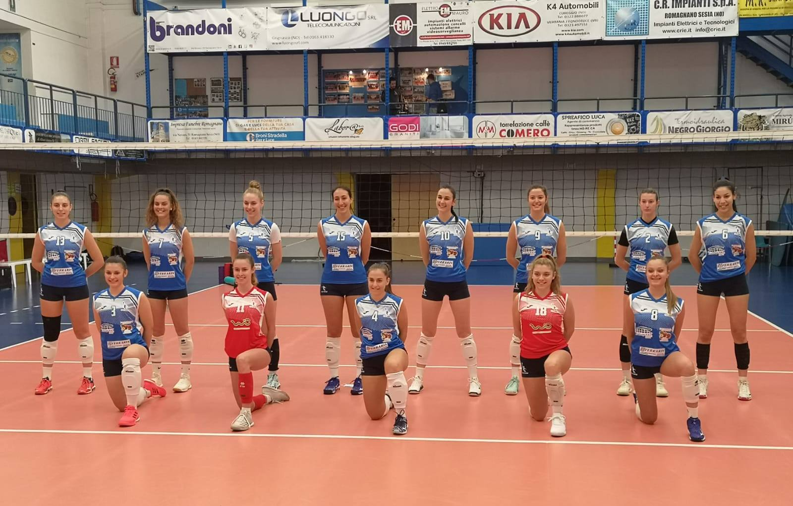 G.S. PAVIC - Canavese Volley IVREA 3 - 0